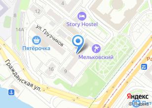Компания «Свердловская дирекция по управлению терминально-складским комплексом» на карте