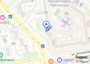 Компания «Бюро недвижимости Зыряновой» на карте