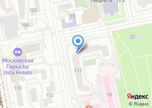 Компания «Гордорпроект» на карте