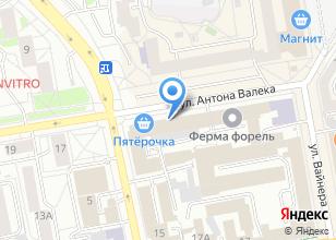 Компания «Уральский дом» на карте