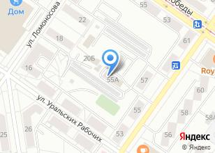 Компания «Velotrek96» на карте