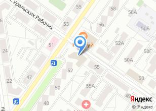 Компания «Юлина» на карте