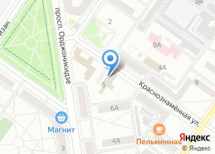 Компания «Машпром» на карте