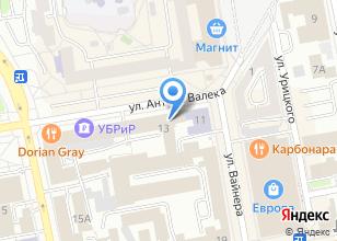 Компания «Федерация» на карте