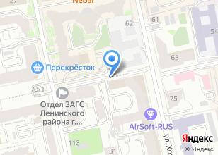 Компания «КРЕПОСТЬ» на карте