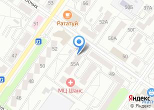 Компания «Дален» на карте