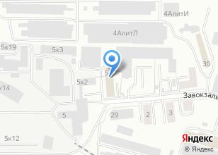 Компания «5М1.ru» на карте