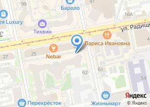 Компания «FIT-N-GO» на карте
