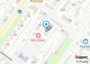 Компания «Высотка» на карте