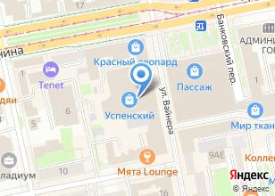 Компания «Лазер-Ас» на карте