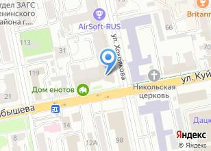 Компания «SKYTOUR» на карте