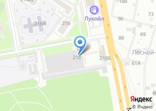 Компания «Академический-4» на карте
