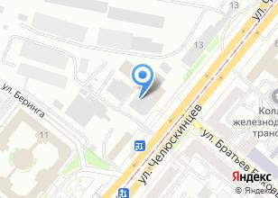 Компания «Урал Сервис» на карте