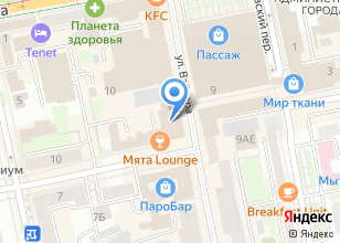 Компания «УАС» на карте