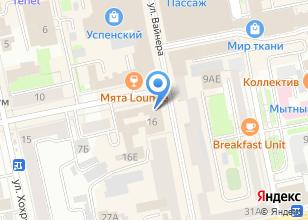 Компания «Матроскин» на карте