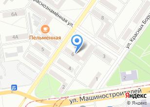 Компания «РейлЕКБ» на карте