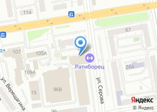 Компания «Ратиборец» на карте
