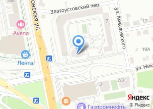 Компания «ИНЖЕНЕРНО-ПРОИЗВОДСТВЕННАЯ КОМПАНИЯ СВЕТ УЛИЦ» на карте