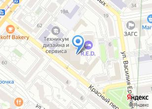 Компания «Бароша» на карте