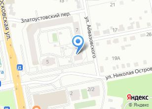 Компания «Строящийся жилой дом по ул. Островского» на карте