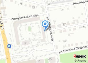 Компания «Кнопа» на карте