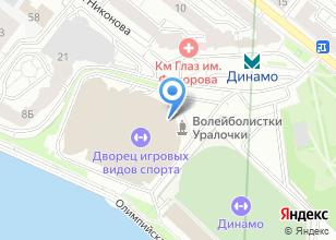 Компания «Выездной спортивный инструктор» на карте