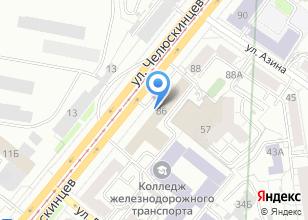 Компания «Уралжелдорпроект» на карте