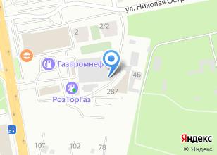 Компания «Улесье» на карте