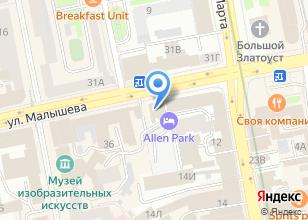 Компания «Купе» на карте