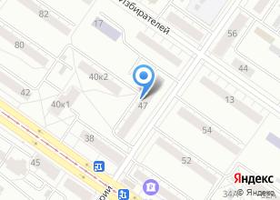 Компания «Hozmega.ru» на карте