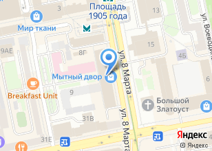 Компания «Мытный двор» на карте