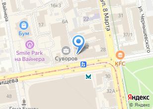 Компания «Дверной Базар» на карте
