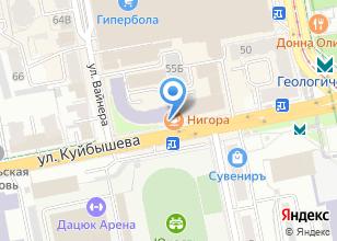 Компания «Уральская геологосъемочная экспедиция» на карте