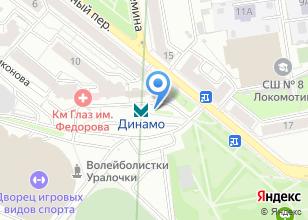 Компания «Станция Динамо» на карте