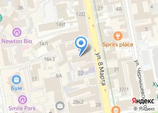 Компания «КомЭлектро» на карте
