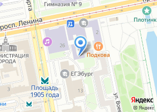 Компания «ТрансСтрой» на карте