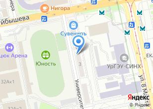 Компания «Флорина» на карте