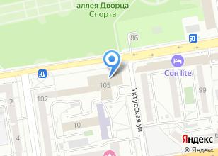 Компания «Уралцедент» на карте