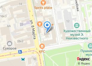 Компания «Ювелирные линии» на карте