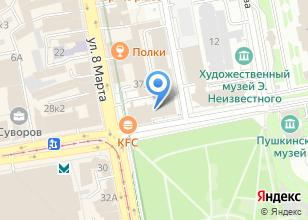 Компания «Капиталстрой» на карте