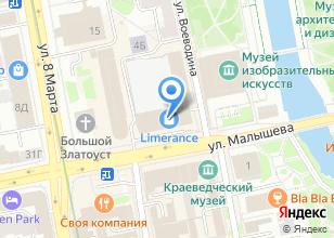 Компания «ТРАНССИБУРАЛ» на карте