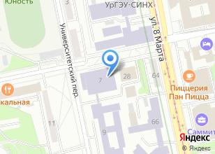 Компания «Качели» на карте