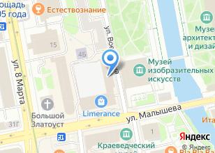 Компания «Кузбасс Стройсервис» на карте