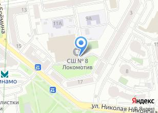 Компания «УНИБОС» на карте