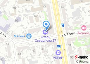 Компания «Свердлова27» на карте