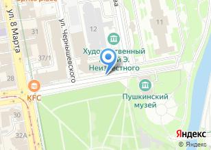 Компания «УралТрансЛоджик» на карте