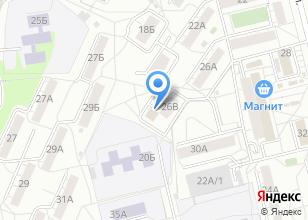 Компания «САНМАРКЕТ-Екатеринбург оптовая компания» на карте