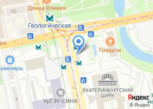 Компания «Станция Геологическая» на карте