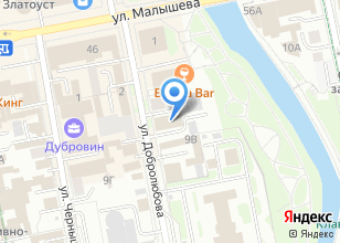 Компания «Энергосервис Исеть» на карте