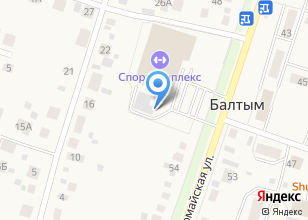 Компания «Спортивная» на карте